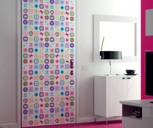 Modern and colorful door designs from Karim Rashid