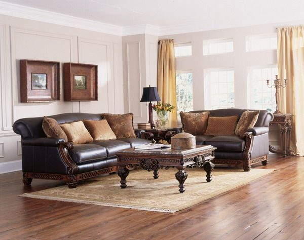 Traditional living room decorating ideas for Sitting room furniture ideas