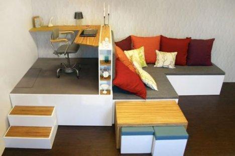 Awesome Matroska A Compact Living Concept