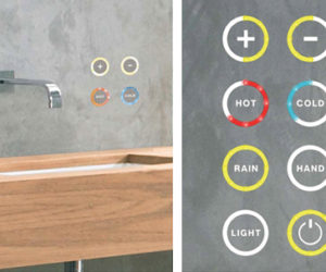 Soft Touch Water Control by Kaesch replaces your bathroom faucets! The Sense of Style