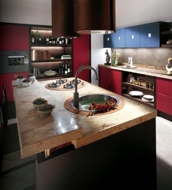 60 Kitchen Interior Design Ideas With Tips To Make One: 10 Modern Tribe Kitchen Ideas By Scavolini