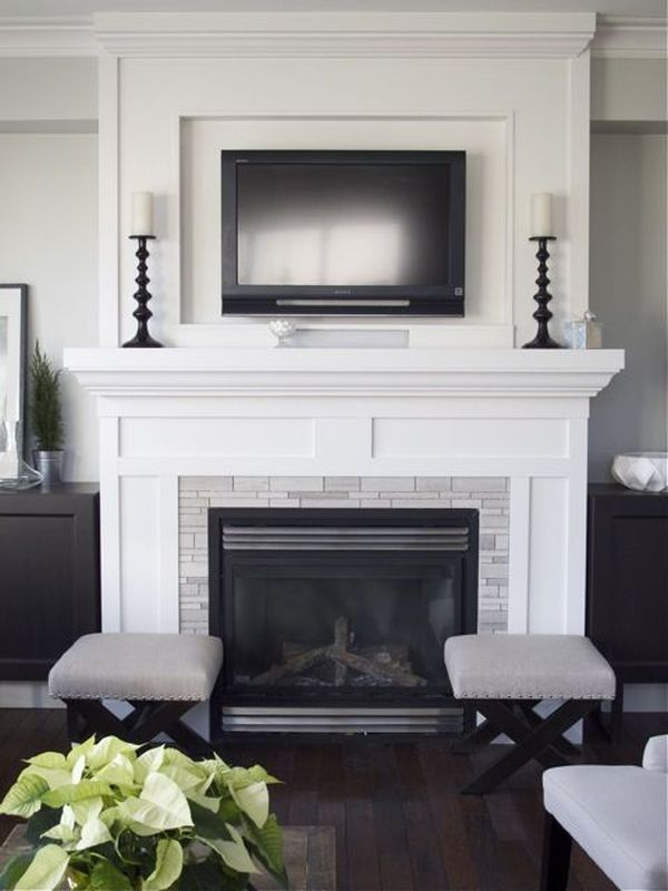 Fabulous Interesting 80 Fireplace Mantels With Tv Above Decorating Ee19