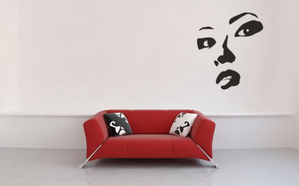 View in gallery. 15 Urban Wall Stickers Decoration Idea