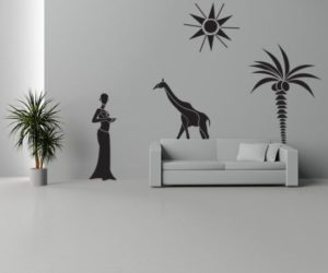 15 Urban Wall Stickers Decoration Idea