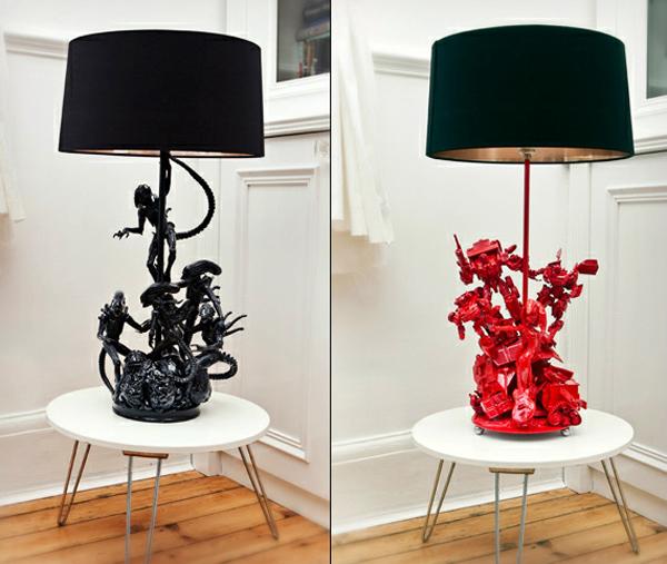 tech furniture Aliens Lamp