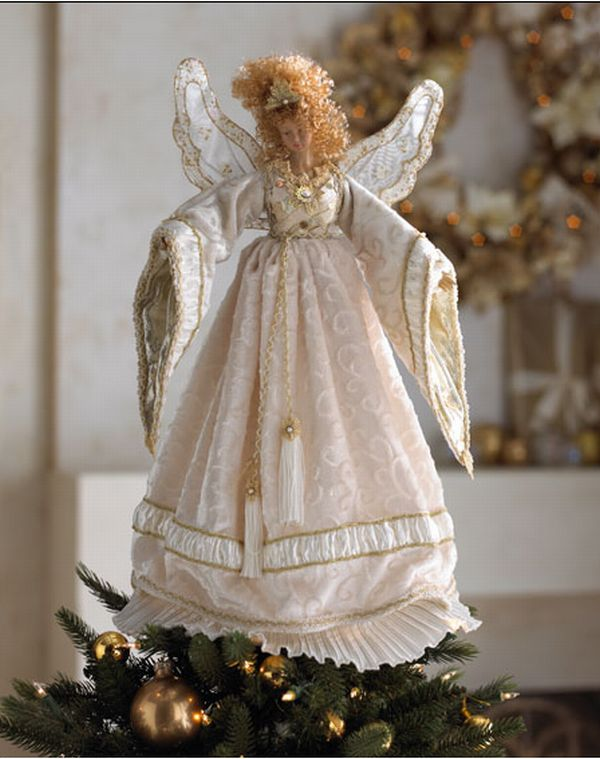 2010 Christmas Ornaments Guide - Christmas Tree Angel Toppers