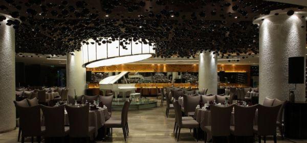 Five star contemporary yuwan restaurant for 5 star restaurant exterior