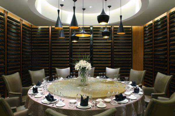 Five star contemporary yuwan restaurant for 5 star restaurant exterior
