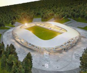 Football Stadium FC Bate Borisov- A futuristic stadium