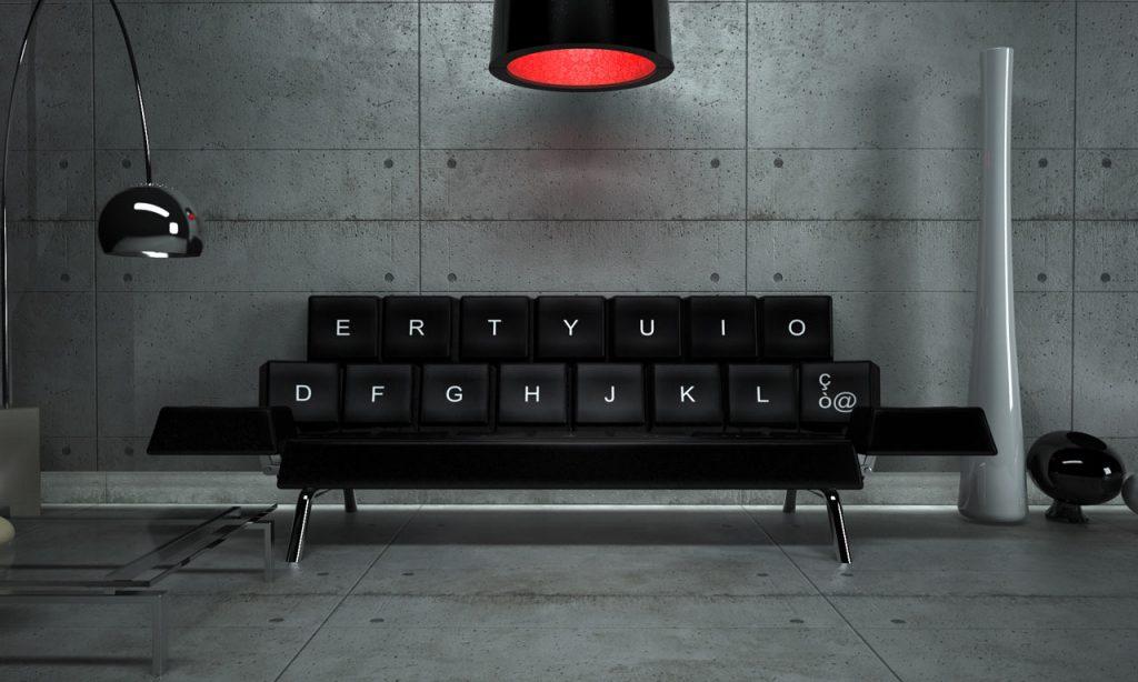 tech furniture Qwerty Sofa