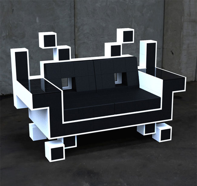 tech furniture Space Invader Couch