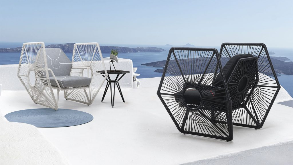 tech furniture Tie Fighter Chair