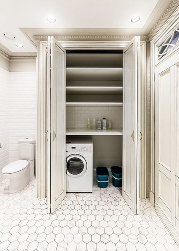 How to find the right spot for the washing machine - Washing machine for small spaces gallery ...