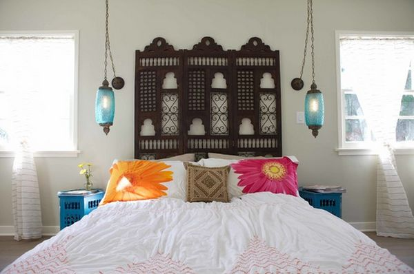 view in gallery heres another gorgeous headboard - Moroccan Bed Frame