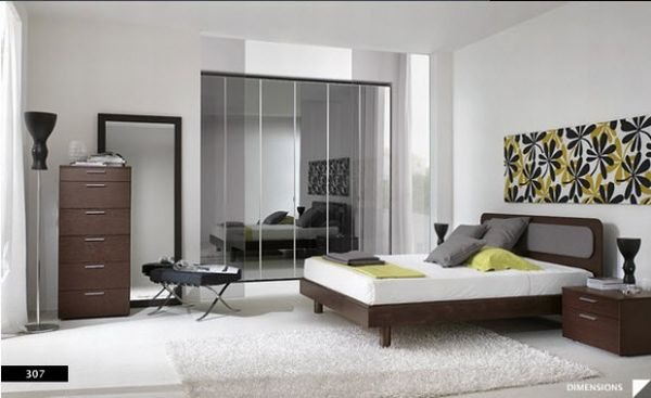 View 31 Beautiful and Modern Bedrooms Design Ideas