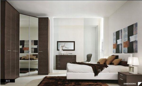 Simple Bedroom Background
