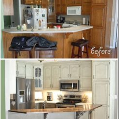 How To Bright Up A Boring Kitchen