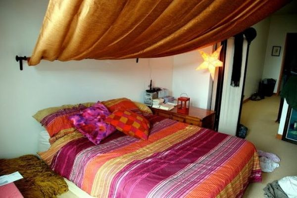 Moroccan Bed Canopy 1001 arabian nights in your bedroom. moroccan décor ideas