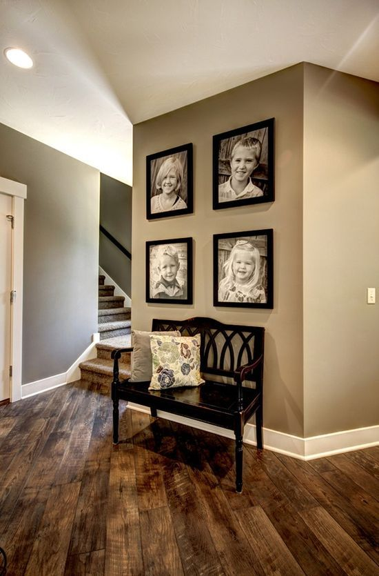 Show home hallways decorating