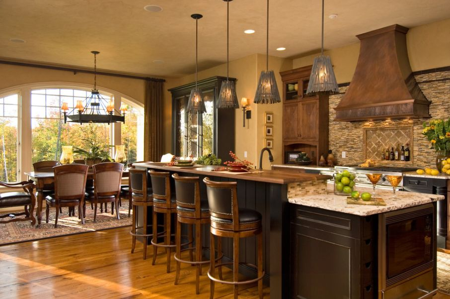 Decorating with tuscan accents essential style secrets for Tuscan style kitchen lighting