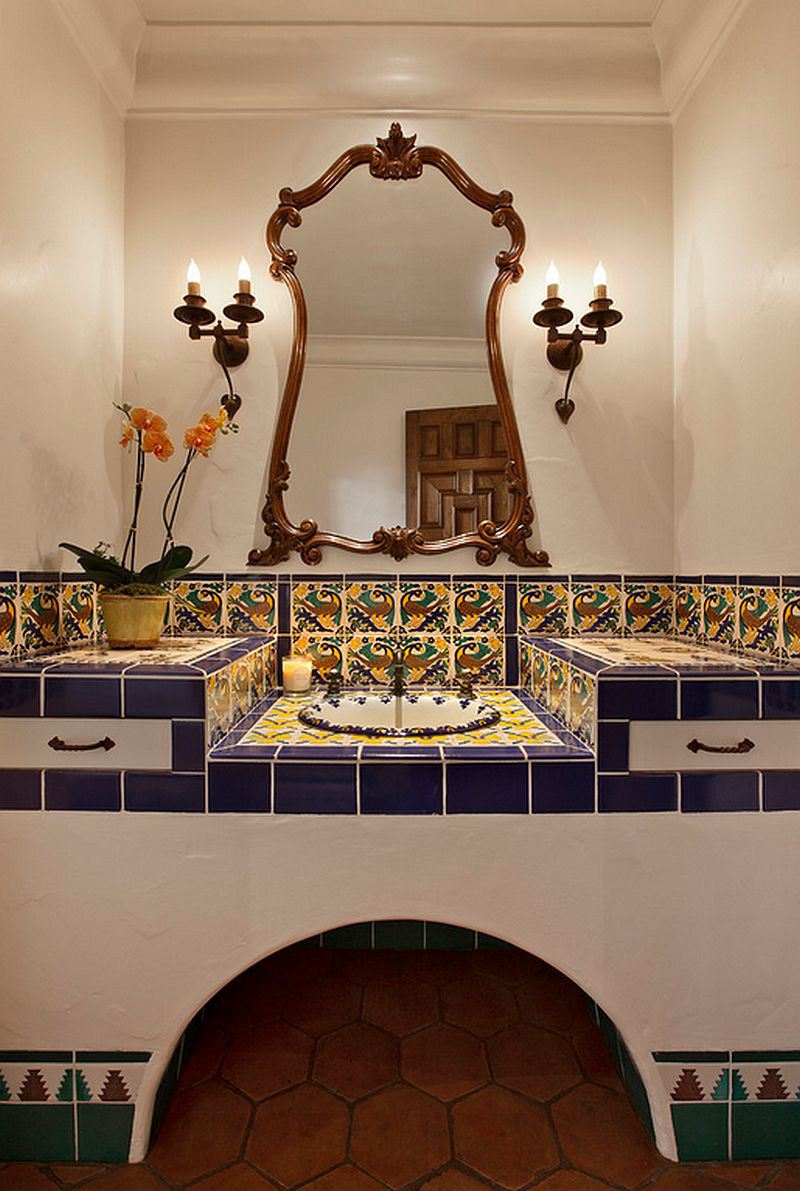 How to decorate your home with vibrant mexican flair - How to decorate your bathroom ...
