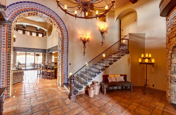 Home decorating ideas the spanish style for American house interior decoration