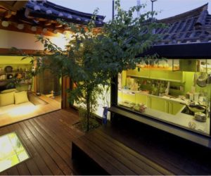 Seoul Traditional House With Modern Italian Style