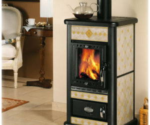 Burning wood stoves from Sideros