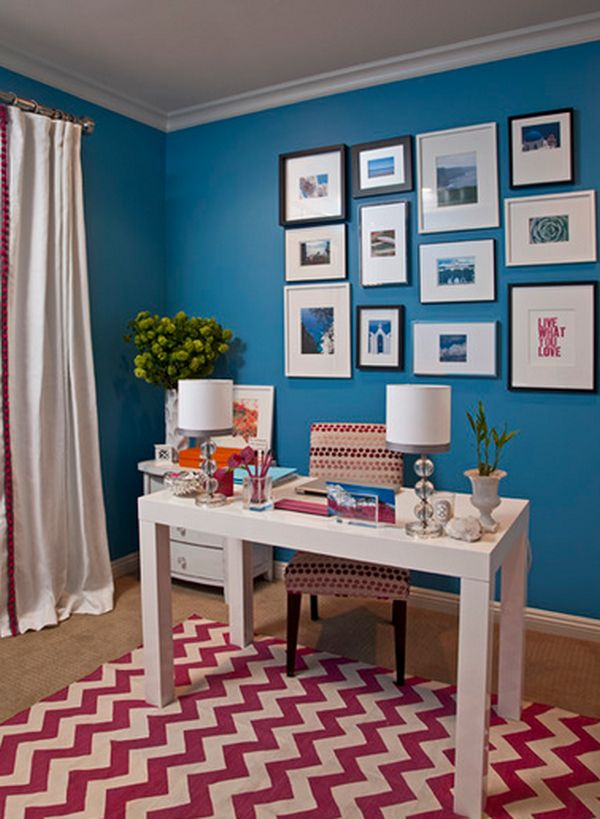 Paint The Walls A Vibrant Color.