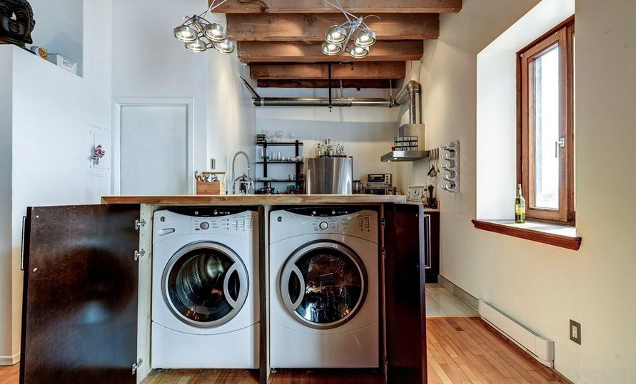 Kitchen Washing Machine ~ How to find the right spot for washing machine