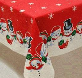 Christmas table cloth