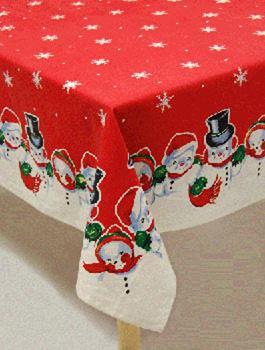Christmas Table Cloth Home Design Ideas