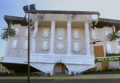 What about this amazing attraction for tourists from all over the world  that you can admire in Orlando, California? It is called Wonderworks and it  houses ...