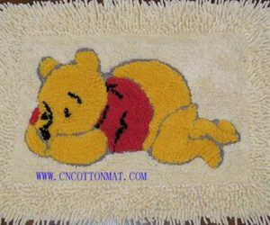 Kids carpets with cartoon characters on