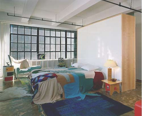 Stylish Laconic And Functional New York Loft Style: Frank And Amy Loft In New York