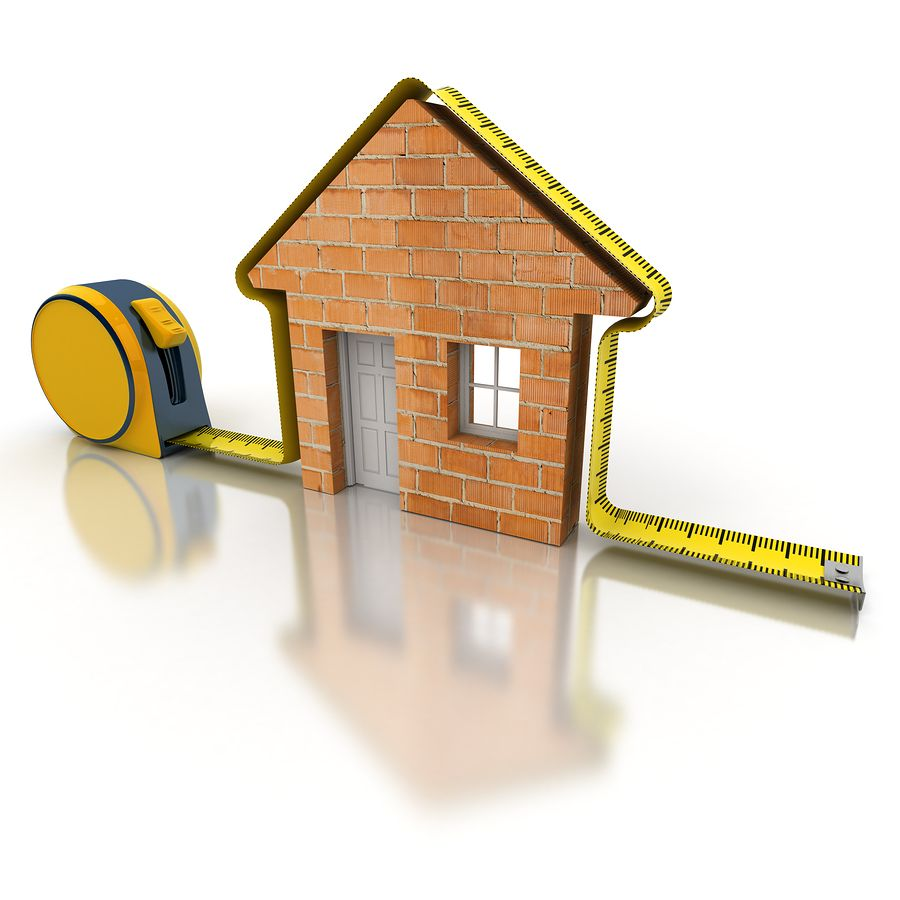 How to measure the square footage of your home - Calculate square footage of house concept ...