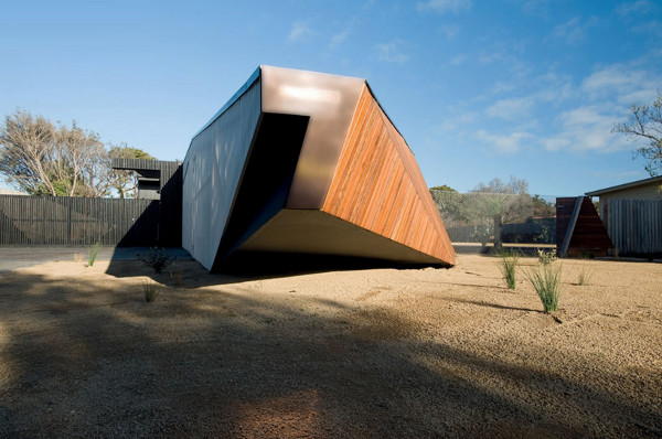 Letterbox House In Blairgowrie Australia - Klein-bottle-house-by-mcbride-charles-ryan