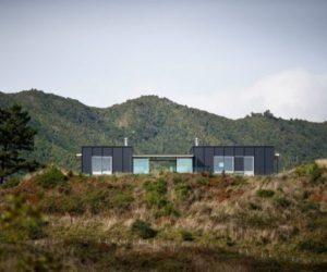 Modular Pekapeka House by Parsonson Architects