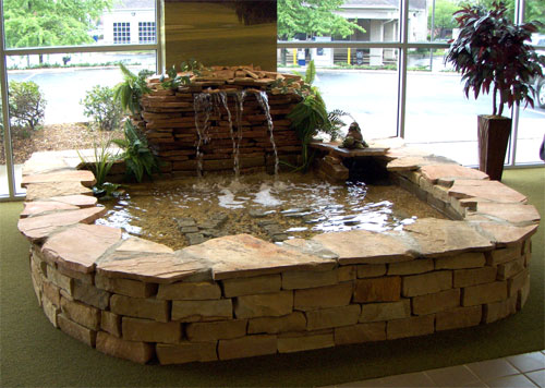 How To Make A Indoor Waterfall