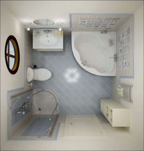 Small Bathroom Ideas Pictures - Very small bathroom floor plans