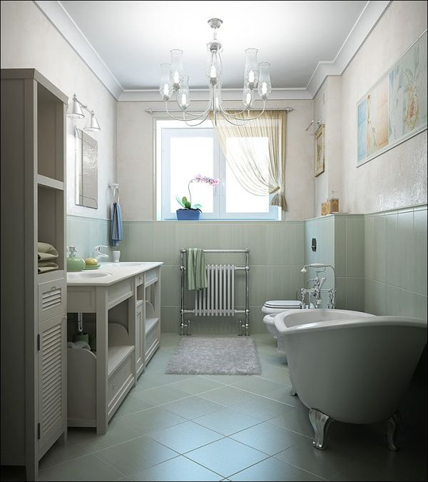 view in gallery - Small Bathroom Tile Ideas Designs