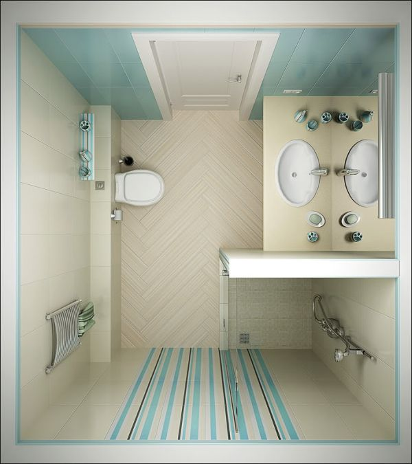 17 small bathroom ideas pictures for Best small bathroom layout