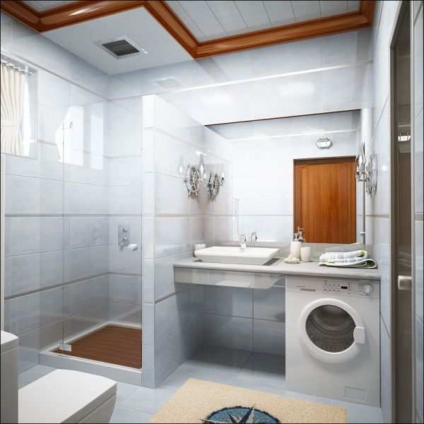 Images Of Small Bathroom Designs In India. View In Gallery