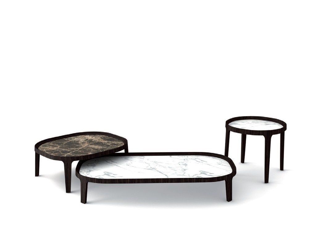Spring coffee table potocco spa