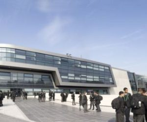 Interesting Evelyn Grace Academy by Zaha Hadid