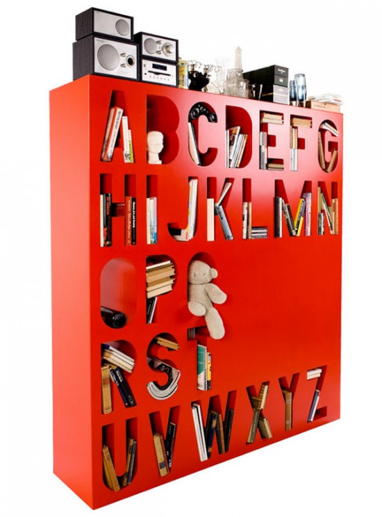 Alphabetic Bookshelf