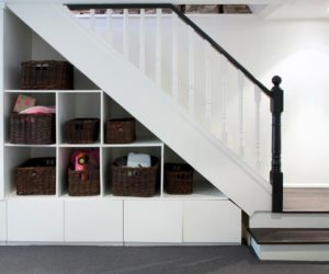 Creative Storage Ideas That Use Space More Effectively · Make Use Of Dead  Space Under The Stairs