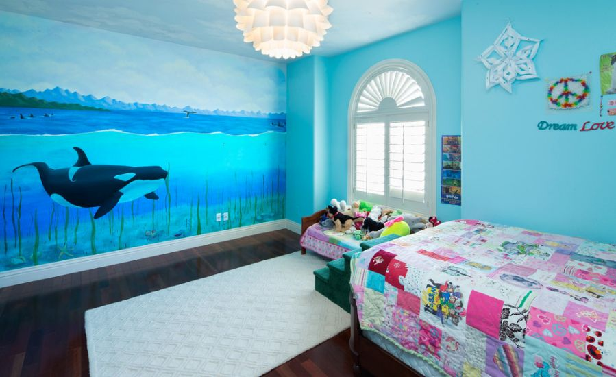 Ocean Themed Kids Room