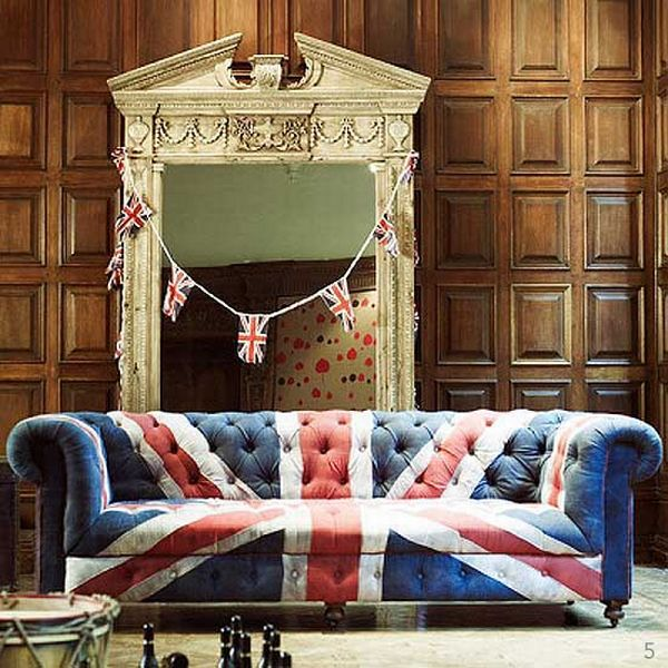 Beau Cool British Personalizate Furniture