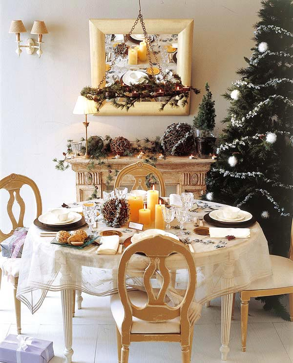 Christmas Dinner Table Decor Part - 28: View In Gallery
